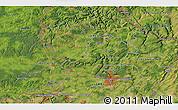 Satellite 3D Map of Aubange