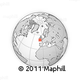 """Outline Map of the Area around 49° 43' 37"""" N, 7° 34' 30"""" W, rectangular outline"""