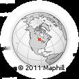 Outline Map of Kenora, rectangular outline