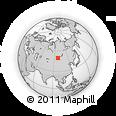 Outline Map of Khalban, rectangular outline