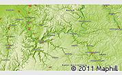Physical 3D Map of Höpfingen