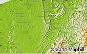Physical Map of Kampong Kenua