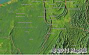 Satellite Map of Kampong Kenua