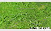 Satellite 3D Map of Bosodongopi
