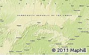 Physical Map of Balenge