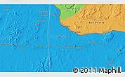 Political 3D Map of Bolo