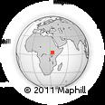 Outline Map of Nadapal, rectangular outline