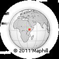 Outline Map of Web, rectangular outline