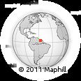 Outline Map of Pusugrunu, rectangular outline