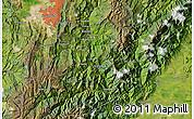 Satellite Map of Villavicencio