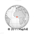 """Outline Map of the Area around 4° 53' 57"""" N, 0° 4' 30"""" E, rectangular outline"""