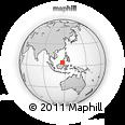 Outline Map of Tatalunan, rectangular outline