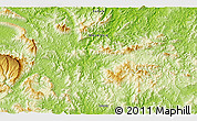 """Physical 3D Map of the area around 4°53'57""""N,117°22'30""""E"""