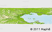 Physical Panoramic Map of Kampong Juita