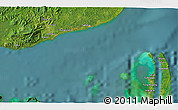 """Satellite 3D Map of the area around 4°53'57""""N,119°4'29""""E"""
