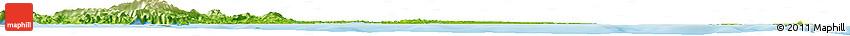 Physical Horizon Map of Larap