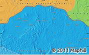 Political Map of Borunu