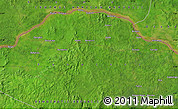 Satellite Map of Baw