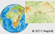 Physical Location Map of Bohola