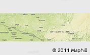 Physical Panoramic Map of Bohola
