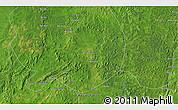 Satellite 3D Map of Congo