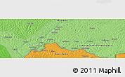 Political Panoramic Map of Agoumar
