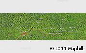 Satellite Panoramic Map of Agoumar
