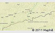 Physical 3D Map of Barasi