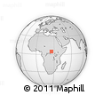 Outline Map of Zapai, rectangular outline