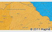 Political 3D Map of Bangbanda