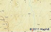 Physical Map of Doruma