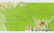 Physical 3D Map of Sugumoru
