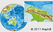 Physical Location Map of Sugumoru