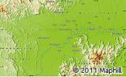 Physical Map of Sugumoru
