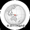 Outline Map of Iabaru Number 1, rectangular outline
