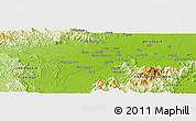 Physical Panoramic Map of Sugumoru