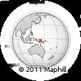 Outline Map of Nigre, rectangular outline