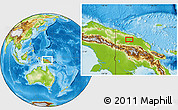 Physical Location Map of Ambunti
