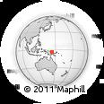 Outline Map of Taringi, rectangular outline