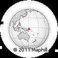 Outline Map of Naviu, rectangular outline
