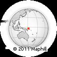 Outline Map of Kabakada, rectangular outline