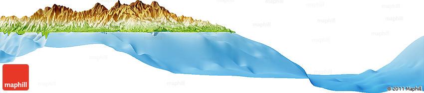 Physical Horizon Map of Lasu