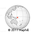 Outline Map of Lasu, rectangular outline