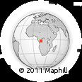 Outline Map of Ndakopembe, rectangular outline