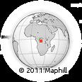 Outline Map of Bungundu, rectangular outline