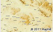 """Physical Map of the area around 4°1'30""""S,27°16'29""""E"""