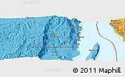 Political Panoramic Map of Kibenga
