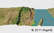 Satellite Panoramic Map of Kibenga