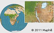 "Satellite Location Map of the area around 4°1'30""S,30°40'29""E"