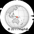Outline Map of Land Slip Range, rectangular outline